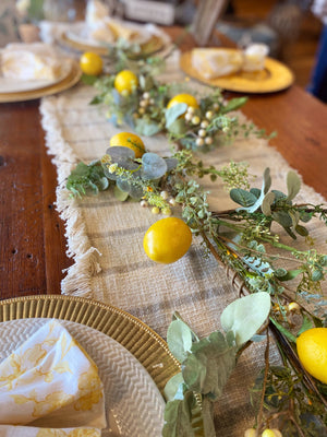 Make Lemonade Lemon Garland - Infinity Raine