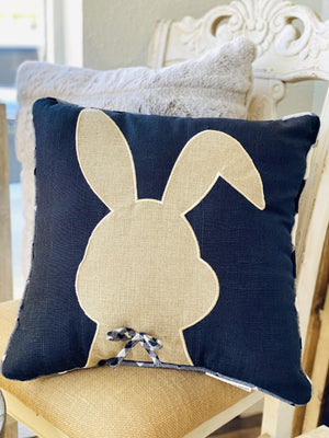 Mr. Rabbit Easter Throw Pillow - Infinity Raine