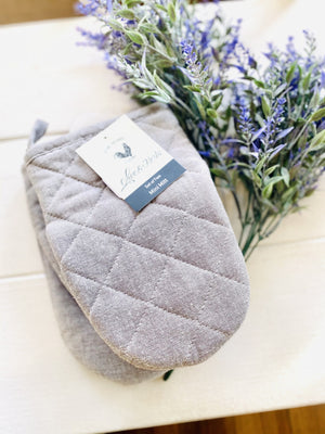 Serving Oven Mitts-Solid Gray - Infinity Raine