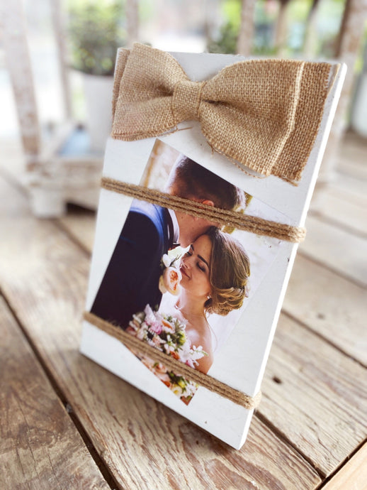 ALL ABOUT LOVE PICTURE FRAME-WHITE
