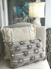 Load image into Gallery viewer, LET'S GET OUT OF HERE THROW PILLOW- GREY - Infinity Raine