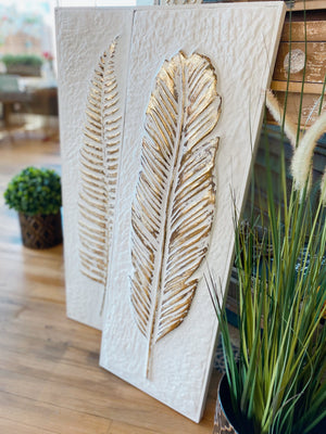Special Place On Top Fern Wall Decor-Feather - Infinity Raine