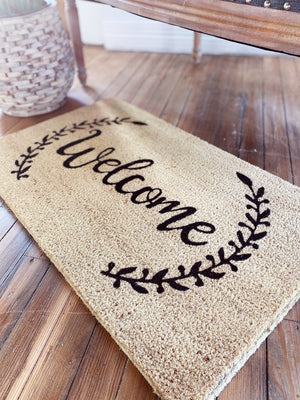 WELCOME DOOR MAT - Infinity Raine