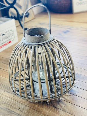 LIGHT BY THE BEACH LANTERN WITH GLASS - Infinity Raine