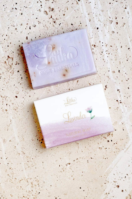 LATIKA LAVENDER NATURAL SOAP - Infinity Raine