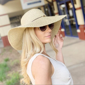 I'M A SUCKER FOR YOU FLOPPY HAT-BEIGE/IVORY - Infinity Raine