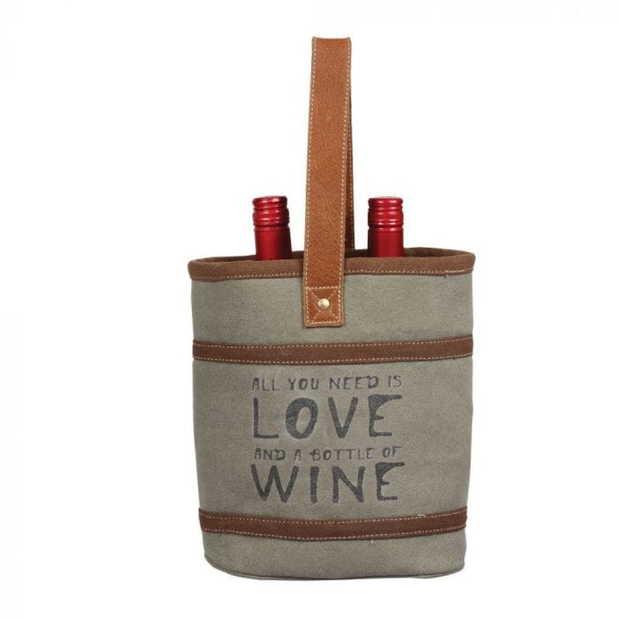 WINE AND LOVE DOUBLE WINE BAG - Infinity Raine