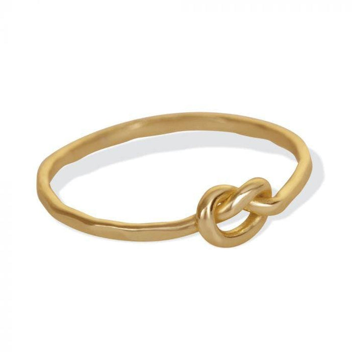 LOVE KNOT RING-GOLD - Infinity Raine