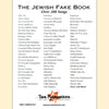 The Jewish Fake Book Bb Edition