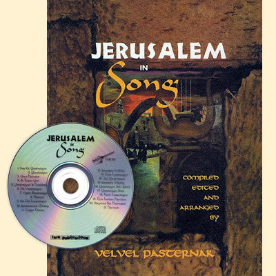 Jerusalem in Song Book and CD