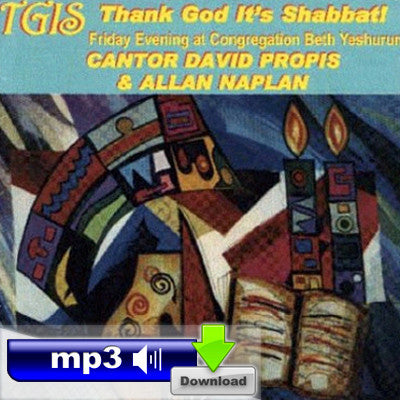 TGIS - Thank God It's Shabbat! - Tzadik Katamar