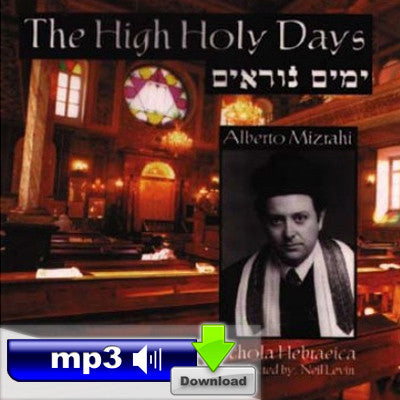 The High Holy Days - Hin'ni