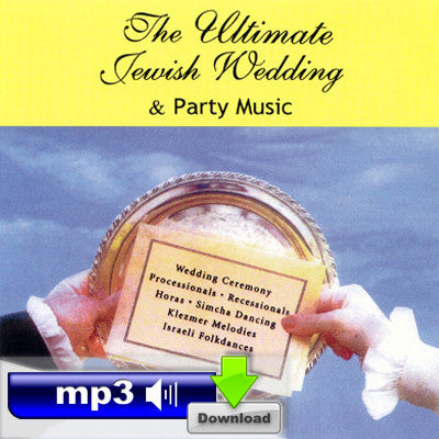 The Ultimate Jewish Wedding and Party Music - Y'varech'cha/Yism'chu Hashamayim/Ele Chamda Libi/Mashi