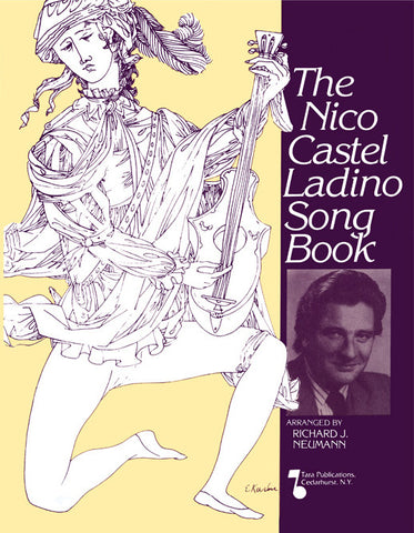 Nico Castel Ladino SongBook [eBook + MP3]