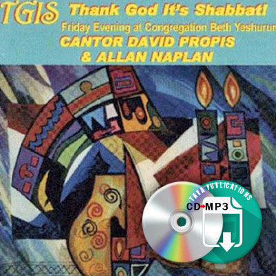 TGIS - Thank God It's Shabbat! - full CD as zipped MP3 for download