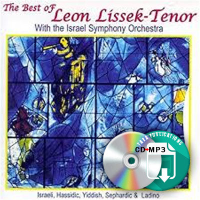 The Best of Leon Lissek-Tenor - full CD as zipped MP3 for download