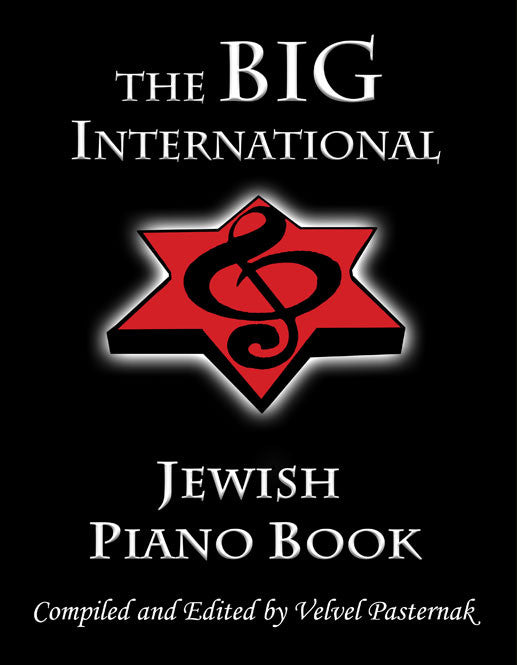 The Big International Jewish Piano Book [eBook]