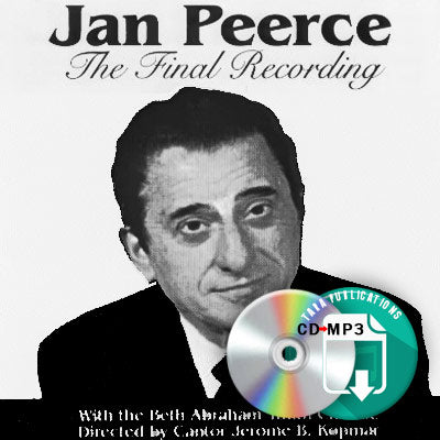 The Final Recording of Jan Peerce - full CD as zipped MP3 for download