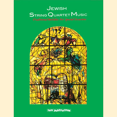 Jewish String Quartet Music (Traditional Music for Special Occasions) Book and CD