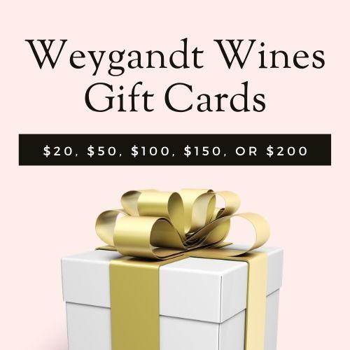 Weygandt Wines Gift Card