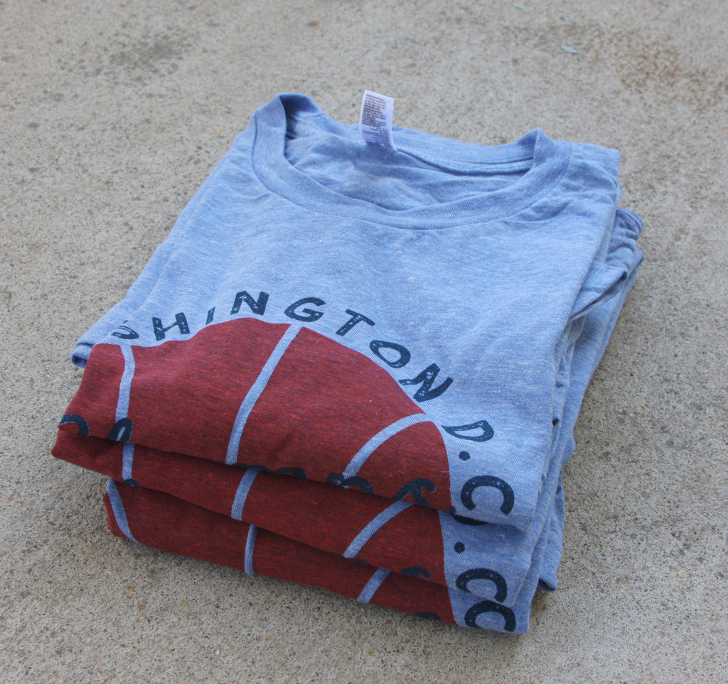 Washington DC basketball t-shirt
