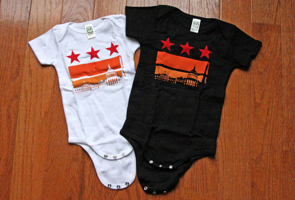Washington DC baby shirt Onesies