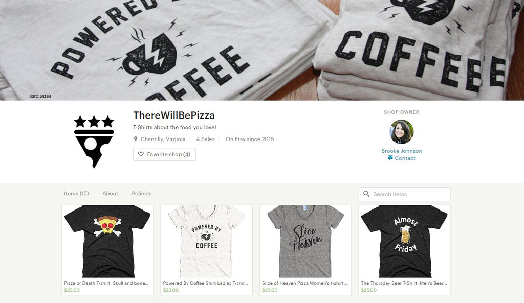 There Will Be Pizza T-shirt