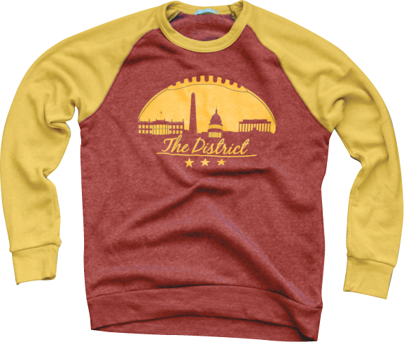 District of Columbia Sweatshirt sneekits