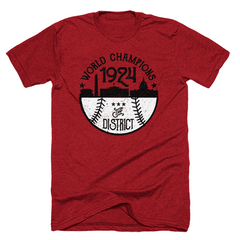 Washington DC nationals 1924 shirt