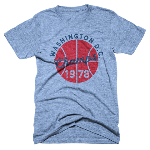 Washington DC 1978 Basketball Champs T-Shirt