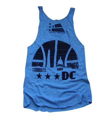 DC basketball ladies tank