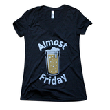 Almost Friday Ladies V-Neck