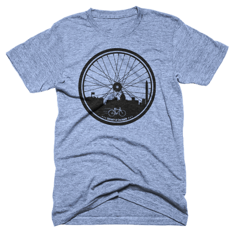 Washington DC Bike City T-shirt
