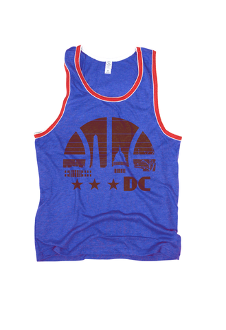 Washington DC basketball Tank Top