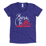 Virginia Born to Love T-Shirt (Indigo)