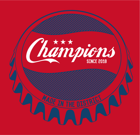 Washington DC Championship T-Shirt - Preorder