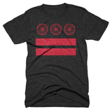 Washington DC Bike Flag t-shirt