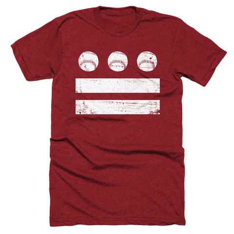 DC Baseball Flag Shirt