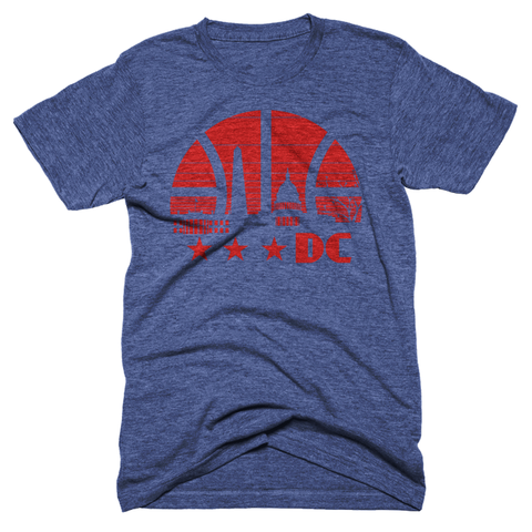 Washington DC basketball tshirt