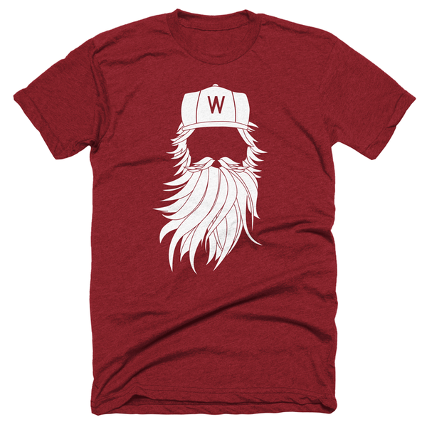 Washington DC playoff Beard Tshirt
