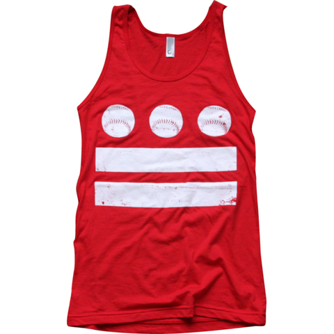 Washington DC Baseball Flag Tank