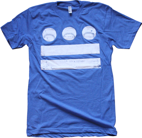 DC Baseball Flag tee