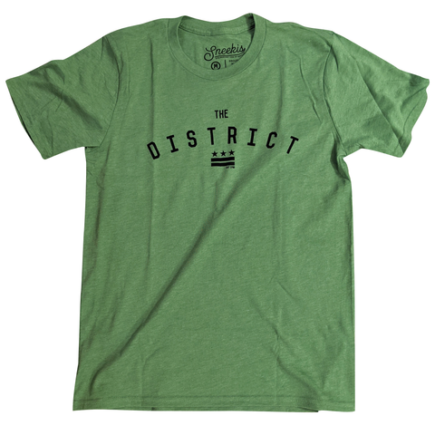 The District - Washington DC Shirt - Kiwi Green