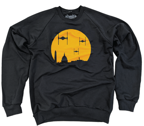 The Empire Strikes DC - 100% Organic Pullover Sweatshirt