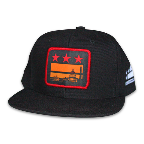 Washington DC sunset hat