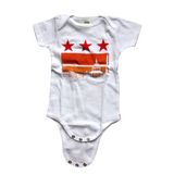 Washington DC flag Onesie