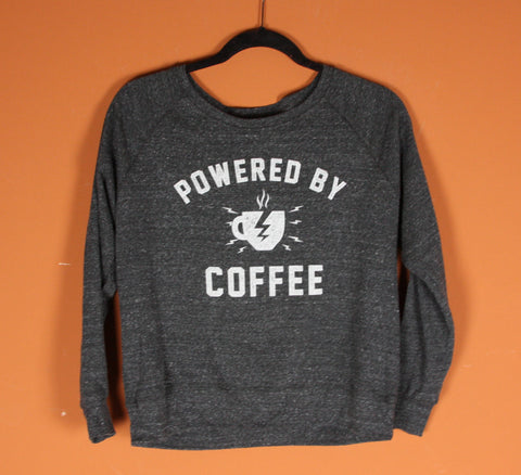 Powered by Coffee Light weight Sweatshirts