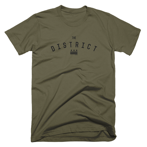 The District Shirt (Army Green)