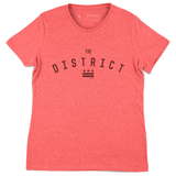 The District Vintage Red T-Shirt