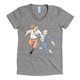 Theodore Roosevelt punches George Washington tshirt